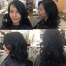 Haircut & Soft Curls