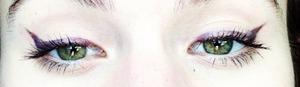 I love plum cat eye(: