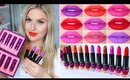 Lip Swatches & Review! ♡ Chi Chi Viva La Diva Lipsticks!