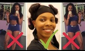 Workout W/O Ruining Microlink Hair Extensions