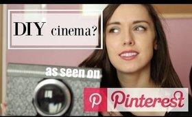 DIY iPhone projector? Testing Pinterest ideas - Patty Sway