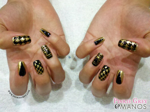 Read more at: http://pinkiegrey.com/post/40387479094/the-ol-black-and-gold-standard-ann-wanted-to