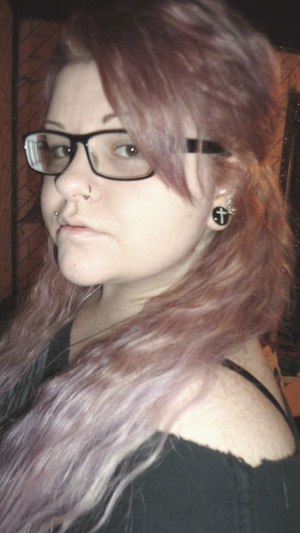 I used Purple Haze by Manic Panic mixed with conditioner (white conditioner).... I mixed the 2 together until the color I wanted was about 2 shades darker. I left it on my extensions for about 5 mins and left it on my hair for about 10 mins.