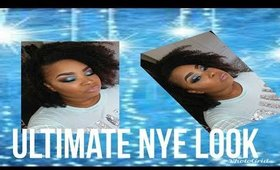 Ultimate New Years Eve Glitter look !!!