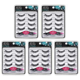 5 Pack Demi Wispies Black Bundle