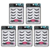 Ardell 5 Pack Demi Wispies Black Bundle