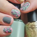 Pink Leopard & Gold Glitter