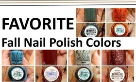 FAVORITE | Fall Nail Polish Colors