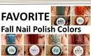 FAVORITE | Fall Nail Polish Colors