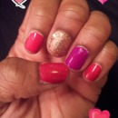 Valentine's Nails Look 1