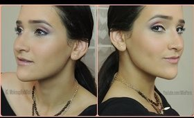 EASY Gold and Red Makeup TUTORIAL!