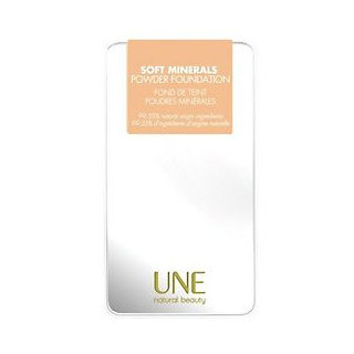 Une Natural Beauty  Soft Minerals Powder Foundation