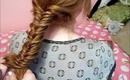 Hair: How to Fishtail Braid
