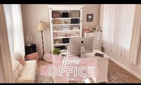 HOME OFFICE TOUR!