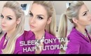 Longer Ponytail in Minutes! ~ Sleek Everyday High Ponytail with BIG Volume