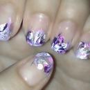 Marble Nail Art :)
