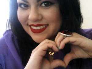 V-Day Classic Red Lips... K V D Liquid Lipsticks in OUTLAW