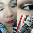 New Years Makeup + OOTD
