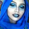 Electric Blue, Midnight Black