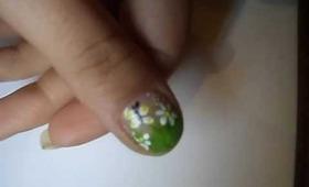 Spring nails tutorial/ Manichiura primavara (1 Martie) - Tutorial