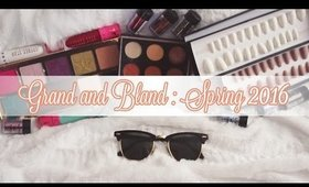 Grand and Bland: Spring 2016