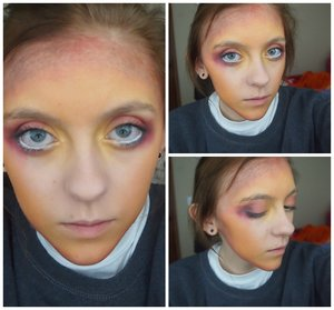 This was my simple Catching Fire inspired makeup!