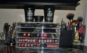 Makeup Collection and Storage!!