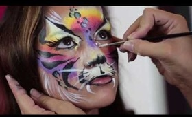 "Rainbow Kitty ""Fierce Feline"""