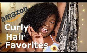 AMAZON CURLY HAIR MUST HAVES