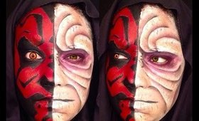 STARWARS: Maul and Sidious Makeup Tutorial