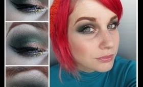 Christmas inspired makeup!