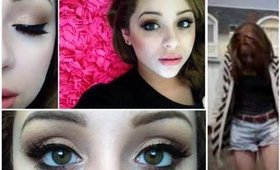 Valentines Day Makeup Tutorial ♡ Soft & Sweet Daytime Look ♡ & Outfit