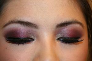 Dramatic Pink Smokey Eyes
