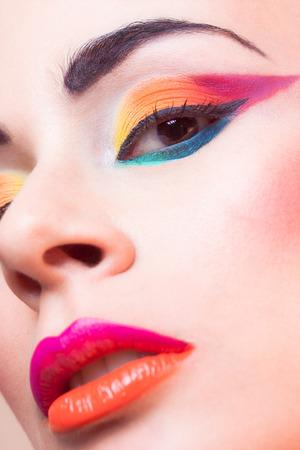 Makeup & Model: Lina Toro Photo: Nausk!