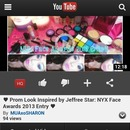 NYX Face Awards 2013 Contest Entry! Please like, comment and subscribe!