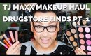 TJ MAXX Makeup Haul Affordable Cosmetics Tutorial Pt. 1 | mathias4makeup