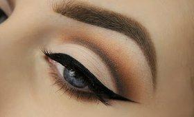 Cut Crease Makeup Tutorial   Neutral Eyeshadows