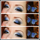 Butterfly Inspired Makeup :)
