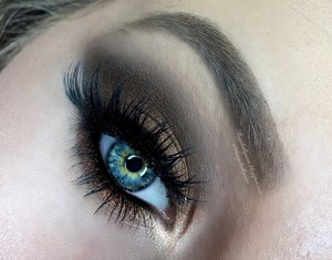 """This is not your typical """"cut crease"""" shadow style-- instead of being overly intensive I toned it down and smoked it out tremendously this way not much of a skill is required here and anyone could go forth in completing the eye makeup look :)! Full details with clickable links are on my blog love. http://theyeballqueen.blogspot.com/2016/04/soft-glam-bronzed-cut-crease-prom.html"""