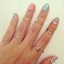 Pretty. Hippie kinda design and rings