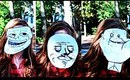 DIY RAGE COMIC COSTUME: Troll Face, Forever Alone, Me Gusta