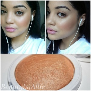 I love highlighters they always give me that perfect glow!!! I used hardcandy tiki bronzer