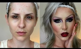Drag Queen Makeup Tutorial para Carnaval por Claudia Guillen