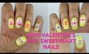 Sweetheart Anti-Valentine's Day Nail Tutorial | OffbeatLook