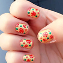NAV | Christmas Nail Art Stamping & Dotting