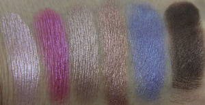 Wet n Wild Coloricon Baked Eyeshadow Baking a Cake Swatch Wet
