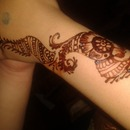 henna I did my self