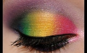 Playdate: Rainbow eyes from IMATS Vancouver