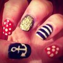 sailor nails :)