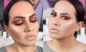 Morphe 15T True Selfie Artistry Palette + All Eye Want 6-Piece Eye Brush Collection